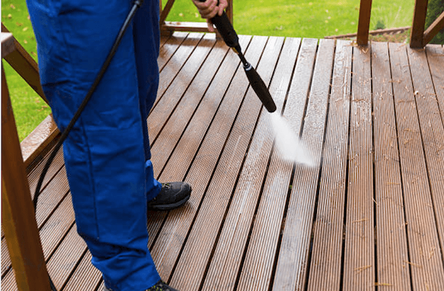 deck cleaning houston