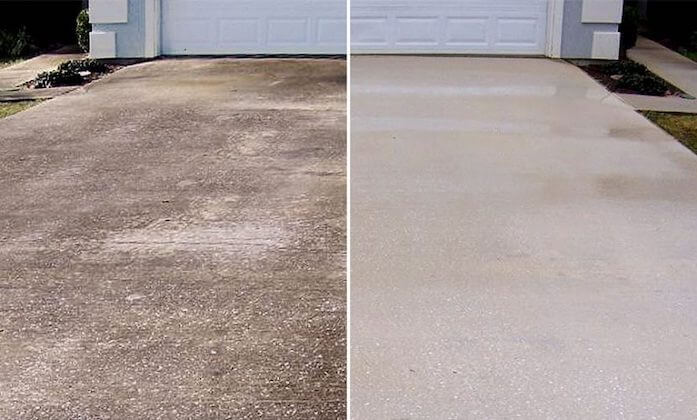 houston driveway cleaning